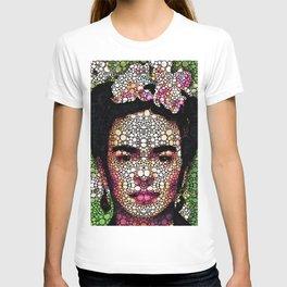Frida Kahlo Art - Define Beauty T-shirt
