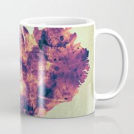 Iceland Map with Flag Coffee Mug