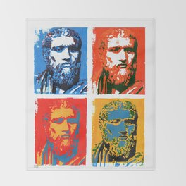 Plato  Throw Blanket