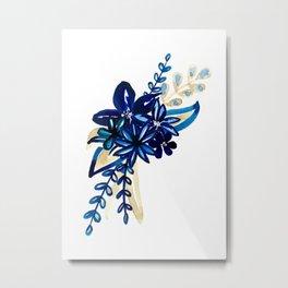 Syros Bouquet Metal Print
