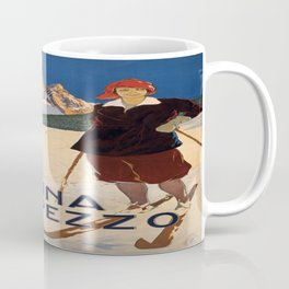 Vintage poster - Cortina d'Amprezzo Coffee Mug