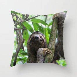 Sloth_20171101_by_JAMFoto Throw Pillow