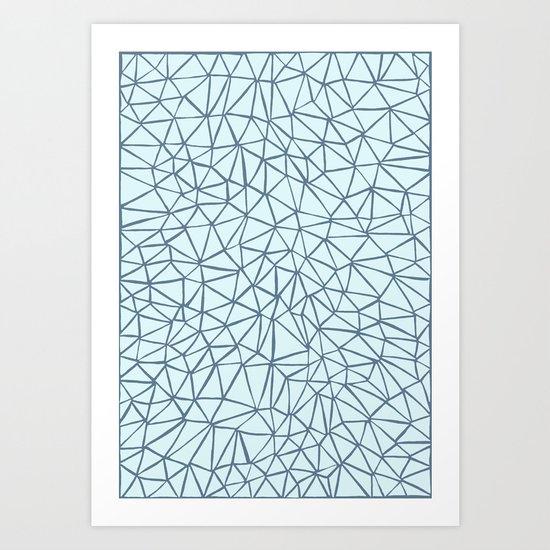 Skyfull Of Diamonds Art Print