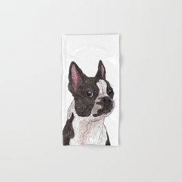 My Baby, Boston Terrier Hand & Bath Towel