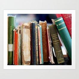 Books from Amsterdam Art Print