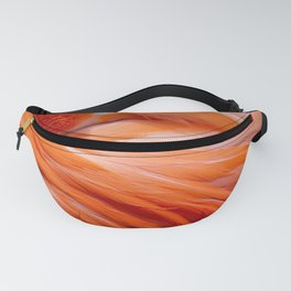 Pink Feathers Fanny Pack