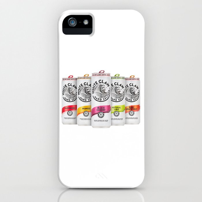 white claw full 2 iphone case