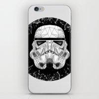 stormtrooper iPhone & iPod Skins featuring stormtrooper by Tarik Ali Sert