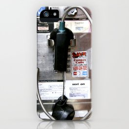 Pay Phone VIII iPhone Case