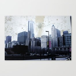 The Concrete Skies of Chicago Canvas Print