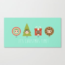 It´s Christmas Time! Canvas Print