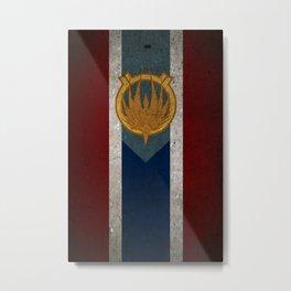 The Banner of Caprica Metal Print