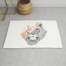 If I roar (The King Lion) Rug