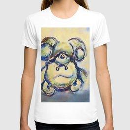 Tumbling Teddy Bear by CheyAnne Sexton T-shirt