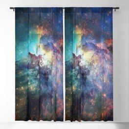 Lagoon Nebula / Second Version Blackout Curtain