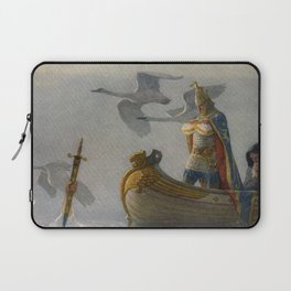 King Arthur and Excalibur Laptop Sleeve