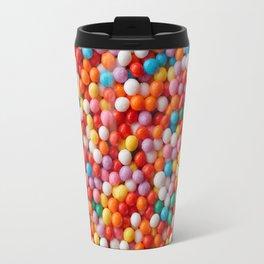 Multicolored candy drops Travel Mug