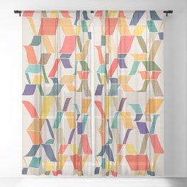 The X Sheer Curtain