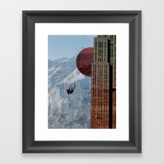 So Begins The Descent Framed Art Print