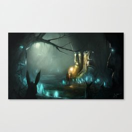 Ancient Woods Canvas Print