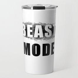 beast mode (black). Pure muscle power! Travel Mug