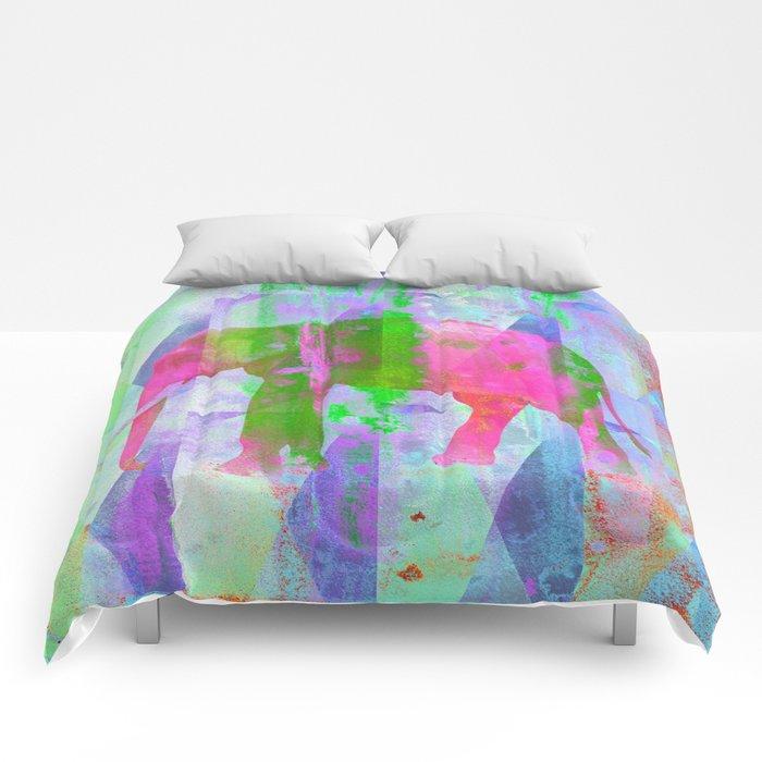 Colorful Elephant Comforters