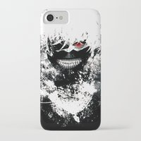 tokyo ghoul iPhone & iPod Cases featuring Kaneki Tokyo Ghoul by Prince Of Darkness