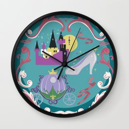 A Fairy Tale With A Happy Ending Wall Clock