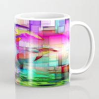 tim shumate Mugs featuring Dolphins Tim Henderson by WhatisArt