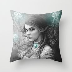 Victoria Van Violence Throw Pillow