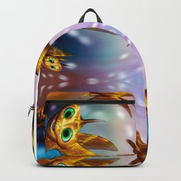 Three little fishies and a mama fishie too Backpack