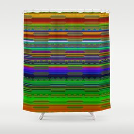 RhythmPulse 11 Shower Curtain