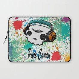 Skull headphones Pure Candy Laptop Sleeve