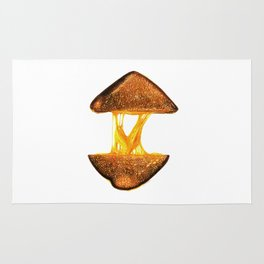 Grilled Cheese Rug
