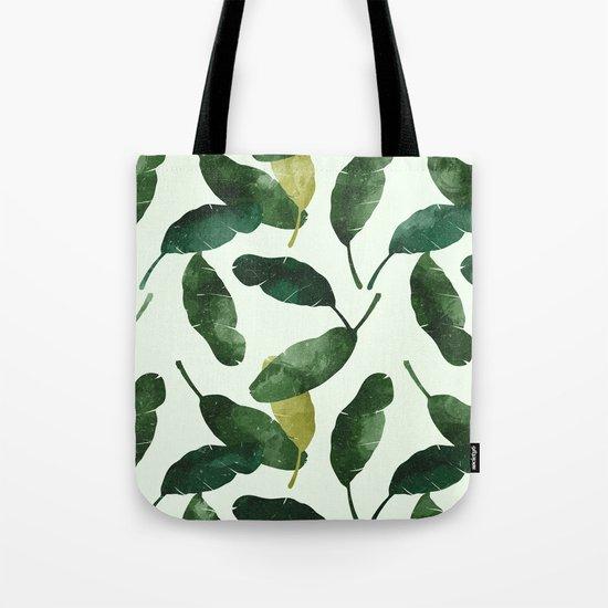 banana leaves Tote Bag