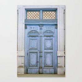 Door Series - Blue Door II Canvas Print