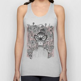 A little shy Unisex Tank Top