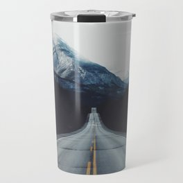 Mountain Road #forest Travel Mug