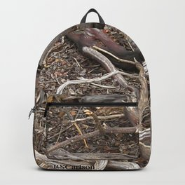 TEXTURES - Manzanita in Drought Conditions #3 Backpack
