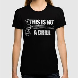 Perfect T-shirt For Construction Carpenters Or Construction Workers and Construction Boss Design T-shirt