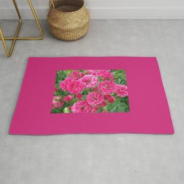 BOUQUET OF PINK ROSES Rug