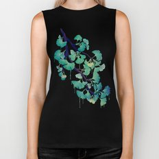 O Ginkgo (in Green) Biker Tank