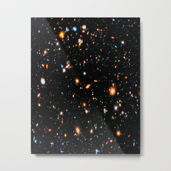 Hubble Extreme-Deep Field Metal Print