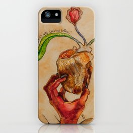 The Soul of a Woman was Created Below iPhone Case