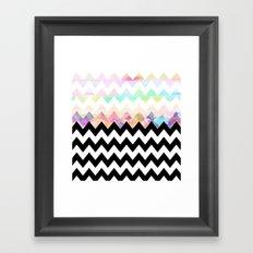 White Magic Framed Art Print