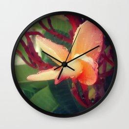 Close-up Flower Wall Clock
