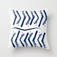 "technology Throw Pillows featuring Ancient technology by Gregory ""grillo"" Ramos"