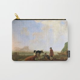 Aelbert Cuyp - Herdsmen with Cows (1645) Carry-All Pouch