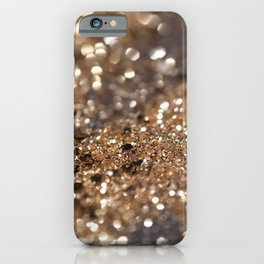Gold Night Lady Glitter #1 #shiny #decor #art #society6 iPhone Case