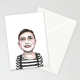 Children Mime Stationery Cards